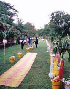 ประเพณีไทย ประเพณีทอดผ้าป่าแถว