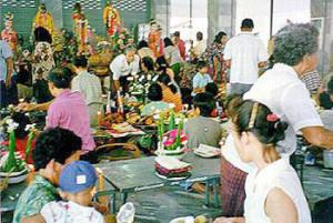 ประเพณีไทย ประเพณีงานประจำปี ฉลองอนุสาวรีย์เจ้าพ่อพระยาแล