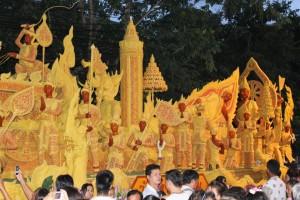 ประเพณีไทย ประเพณีแห่เทียนพรรษา