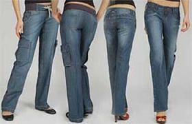 กางเกงยีนส์สำหรับสาวสะโพกใหญ่