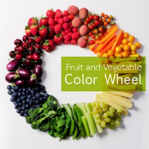 พลังของผักผลไม้หลากสี