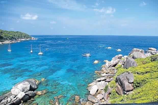 สวรรค์ใต้ทะเล หมู่เกาะสิมิลัน
