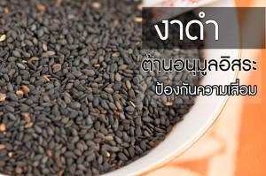 งาดำ สมุนไพรไทย