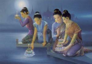วันสำคัญของไทย ขึ้น 15 ค่ำ เดือน 12 วันลอยกระทง